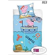 2piezas infantil Ropa de cama 100x 13540x 60Disney 955Peppa Pig George
