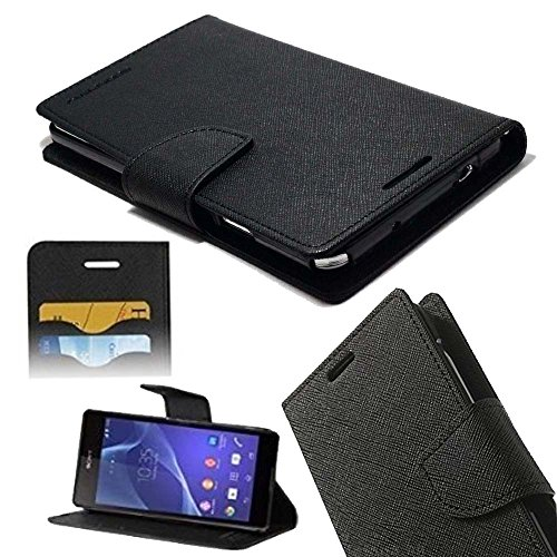 ORC - Lenovo Vibe K5 Plus Flip Cover - Luxury Mercury Diary Wallet Style, Flip Cover for Lenovo Vibe K5 Plus (Black)