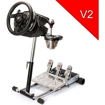 (ATTENTION! La vente aux enchères concerne seulement le support, sans volant ni pédales.)Wheelstandpro Thrustmaster T500RS Logitech G25/G27 Porsche GT2/GT3