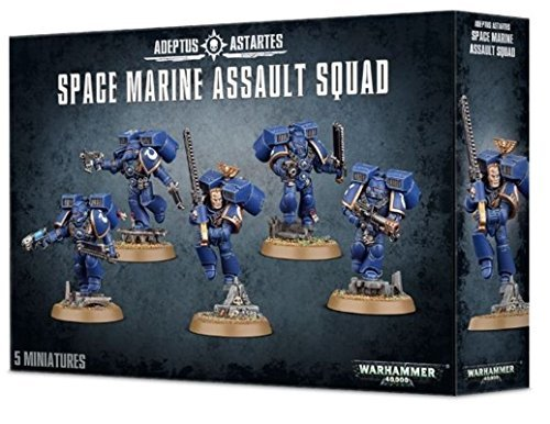 Games Workshop 99120101034 Warhammer 40.000 - Figuras de escuadra de a