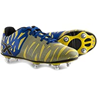 Wild Thing 6 Stud SG Rugby Boots Yellow/Blue