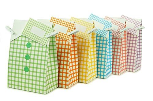 Geschenktüten für Kinder Partytüten 12 Stück ideal für wiederverwendbare Mitgebsel Kindergeburtstag Party Gastgeschenke Mitbringsel Scherzartikel Deko zum Basteln für Jungen und Mädchen (mixed) -