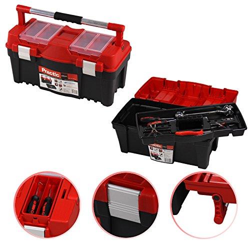 'Outil Boîte à outils Boîte d'assortiment Mallette de transport Practic 22 55 x 27 x 28 cm