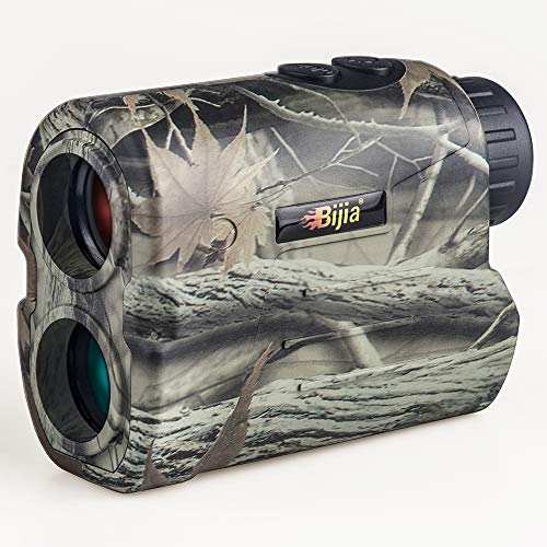 Entfernungsmesser Jagd,BIJIA Laser-Jagd-Entfernungsmesser 650 Yard - Golf Jagd- Entfernungsmesser/mit Reichweite/Geschwindigkeit/Scan-Modell R600