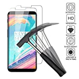 2x OnePlus 5T Tempered Glass Screen Protectors, EJBOTH 2.5 D Premium Mobile Phone Protective Film Protector for OnePlus 5T, Oil-proof Anti-fingerprint High Definition Ultra-resistant with hardness 9H.