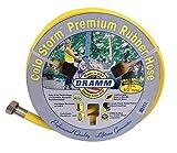 DRAMM 17033Colorstorm Premium Gummi Gartenschlauch, 25'x 1/5,1cm gelb