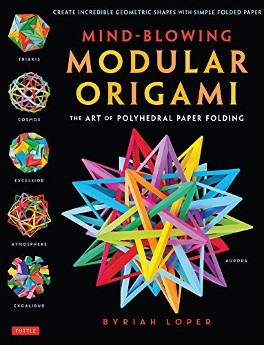 Mind-Blowing Modular Origami Cover Image