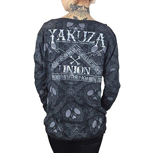 Yakuza Original Damen Union Shirt Longsleeve Schwarz