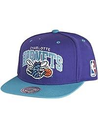 Casquette Snapback Arch Charlotte Hornets violet-bleu sarcelle MITCHELL & NESS