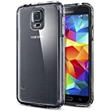 Spigen Case für Samsung Galaxy S5 Hülle ULTRA HYBRID - [Clear - SGP10741]