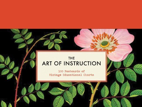 The Art of Instruction: Postcards: 100 Postcards of Vintage Educational Charts by Chronicle Books (2012) Card Book