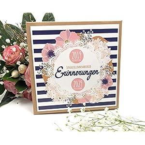 Hochzeit - JGA Spiel Zeitreise - Junggesellinenabschied - Erzähl doch mal - 10 Zeitreise Karten inkl. Geschenkschachtel