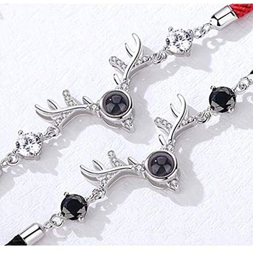Zoom IMG-2 hxzbss braccialetto in argento sterling