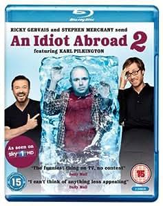 An Idiot Abroad - Series 2 [Blu-ray] [Region Free]