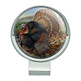 Graphics and More Minnesota Gobbler Türkei Golf Hat Clip mit magnetischem Ballmarker