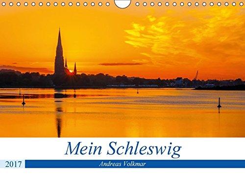 Mein Schleswig (Wandkalender 2017 DIN A4 quer): Stadt der Wikinger, Herzöge und Bischöfe (Monatskalender, 14 Seiten ) (CALVENDO Orte)