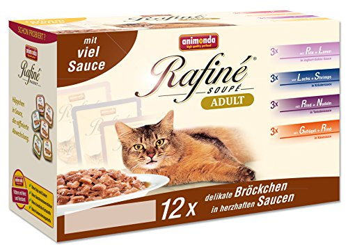 katzeninfo24.de Animonda Rafine Soupe Multipack 3, Adult, 1er Pack (1 x 1.2 kg)