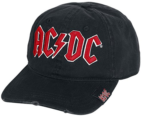 AC/DC Logo Baseball-Cap schwarz