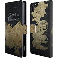 Official HBO Game Of Thrones Westeros Map Key Art Leather Book Wallet Case Cover For Sony Xperia Z2