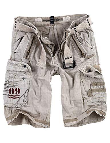 Surplus Blu Reale Pantaloncini Cargo-uomo - Bianco-royal, Uomo, L