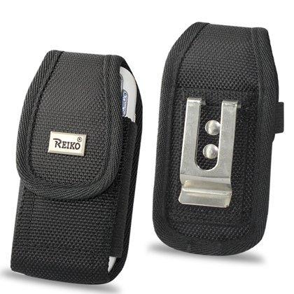 Pouch Protective Carrying Cell Phone Case for BlackBerry Pearl 8110 Flip 8220 /LG CU515 Rumor2 VX9700 (Dare) / Banter / UX-265 / Pantech Impact P7000 / Samsung Solstice II AT&T Sunburst A697 / DoubleTake / Sanyo SCP-3810 / Mirro / Sony Ericsson C905 Elm Vivaz ZTE Agent MetroPCS - Black