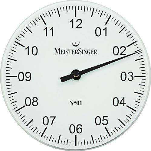 MeisterSinger Pangea WU18 Einzeiger Wanduhr Mit Aufstellbügel (Uhr Meistersinger)