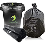 NaturePac Garbage Bags Biodegradable For Kitchen,Office,Small Size (43cmx51cm/17 Inch x 20 Inch,90 Bag)