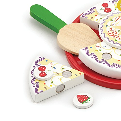 Viga NCT Wooden Cutting Birthday Cake Set