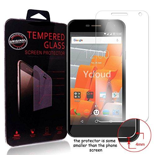 Ycloud Panzerglas Folie Schutzfolie Bildschirmschutzfolie für Wileyfox Spark screen protector mit Härtegrad 9H, 0,26mm Ultra-Dünn, Abger&ete Kanten