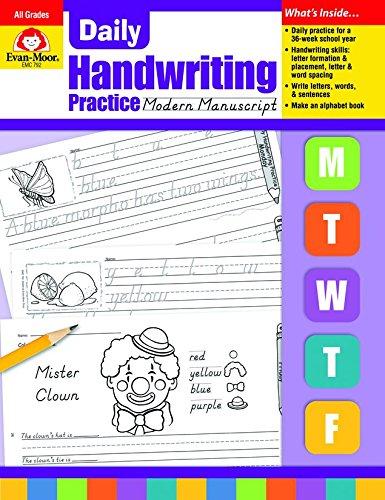 PDF DOWNLOAD] Daily Handwriting Modern Manuscript *Full