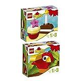 Lego Duplo 2er Set 10850 10852 Mein erster Geburtstagskuchen + Mein erster Papagei