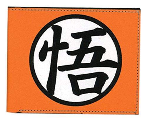 Gran entretenimiento oriental dragon ball z goku símbolo cartera