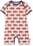 loud + proud Unisex Baby Spieler mit Druck, aus Bio Baumwolle, GOTS zertiziziert, Rot (Cayenne Cay), 92 (Herstellergröße: 86/92)