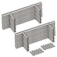 128MM Solide Material Aluminiumlegierung M/öbel Griffen Kabinett Griffe M/öbelgriffe Kn/öpfe T/ürgriffe 20 St/ück Qrity Lochabstand