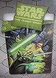 Star Wars: The Clone Wars Yoda Luck Skywalker. Bettwäsche Kinderbettwäsche Kinder Bettwäsche Jugendbettwäsche Jugend Bettwäsche Kopfkissenbezug: 80 x 80 cm + Bettbezug: 135 x 200 cm, 100 % Baumwolle, Renforce Star Wars: The Clone Wars ist eine US-amerikanische Computeranimationsserie, die im fiktiven Star-Wars-Universum von George Lucas spielt