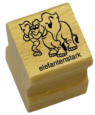 Elbi Lehrerstempel: elefantenstark aus Holz – K50/6