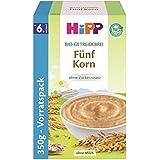 Hipp Bio-Getreide-Breie; 5-Korn, 4er Pack (4 x 350 g)