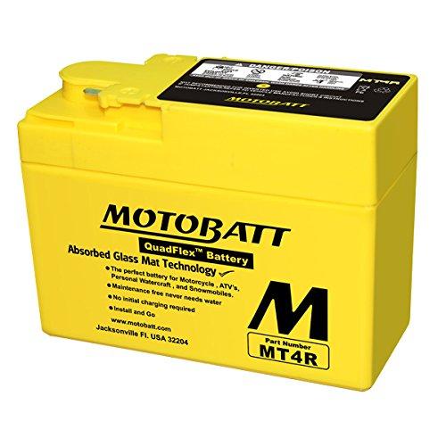 Batteria potenziata MT4R Motobatt = Yuasa: YTR4ABS