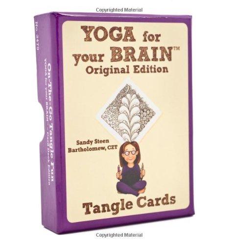 Yoga for Your Brain Original Edition (Tangle Cards) por Sandy Steen Bartholomew Czt