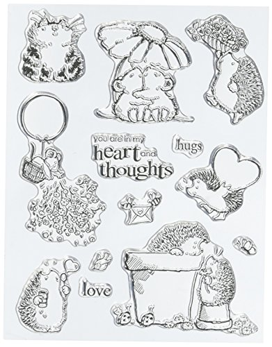 Penny Schwarz 5 X 19,1 cm Clear Stamps sheet-hugs (Group Hug)
