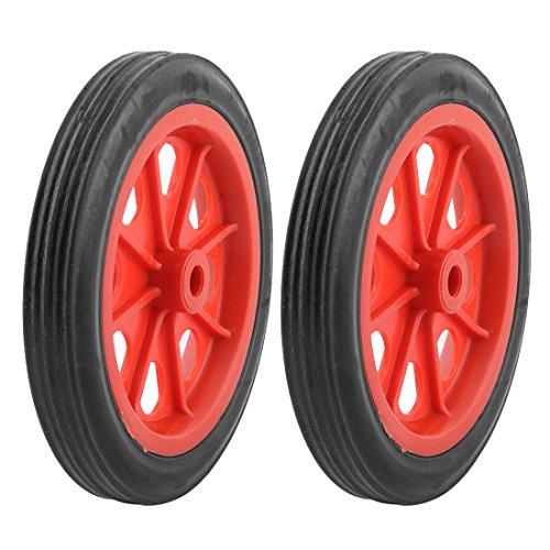 Sodial (r) 2 pz sostituibile ruote carrello spesa 4.4