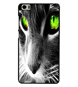 PRINTSWAG ANGRY CAT Designer Back Cover Case for XIAOMI MI5