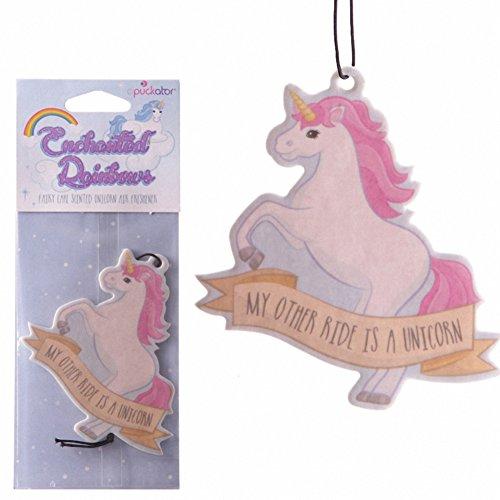 Puckador Fun Air Freshener - Fairy Cake Fragranced Unicorn