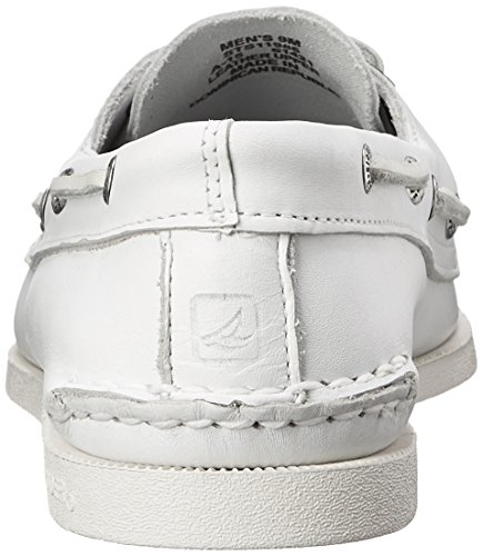 Sperry Top-Sider Mens A/O Boat Shoe White