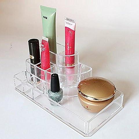 GAOMEIJoyería estética de caja cosmética de acrílico del almacenaje suministra el cuadro de clasificación