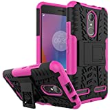 Lenovo K6 Case, Man Replacement Replacement Back Cover Protective Case With Replacement For Lenovo K6 (Hot Pink)
