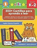 300+ Cartillas para aprendo a leer - Juegos educativos lectoescritura actividades montessori bebe 2 5 años: Lecturas CORTAS y RÁPIDAS para niños de ... Recursos educativos en Inglés-Hebreo-Español
