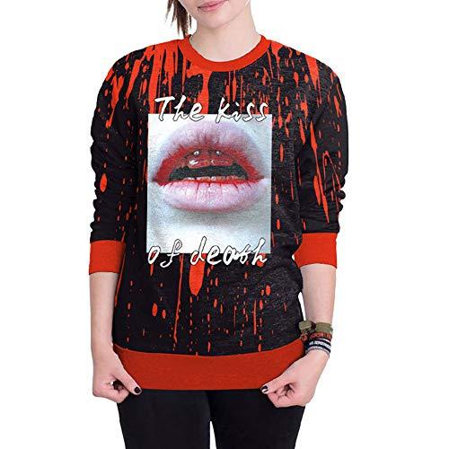 Hutmacher Kostüm Damen Selber Machen - LOPILY Halloween Kostüme Damen Blutspur Sweatshirts