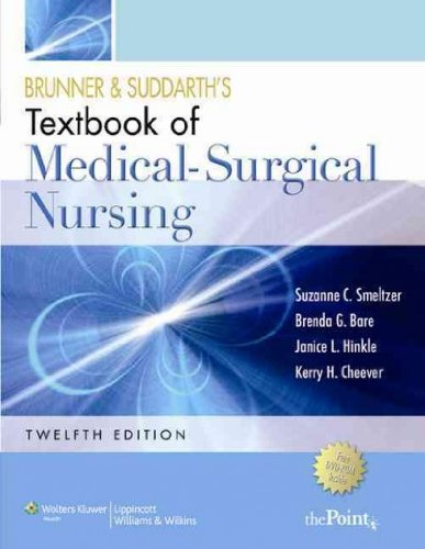 [(Brunner and Suddarth's Textbook of Medical Surgical Nursing: In One Volume)] [Author: Suzanne C. Smeltzer] published on (December, 2009)