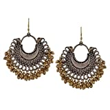 Zephyrr Fashion Oxidized Ethnic Silver /...